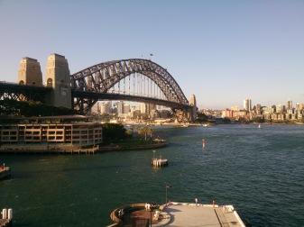 Harbourg bridge