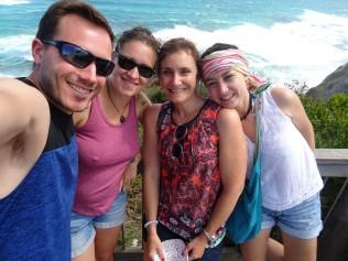 Mes travelmates ! Thibault, Mélody et Marguerite