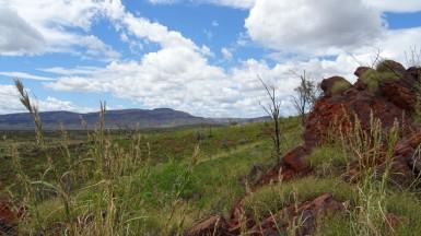 Vue sur le Pilbara